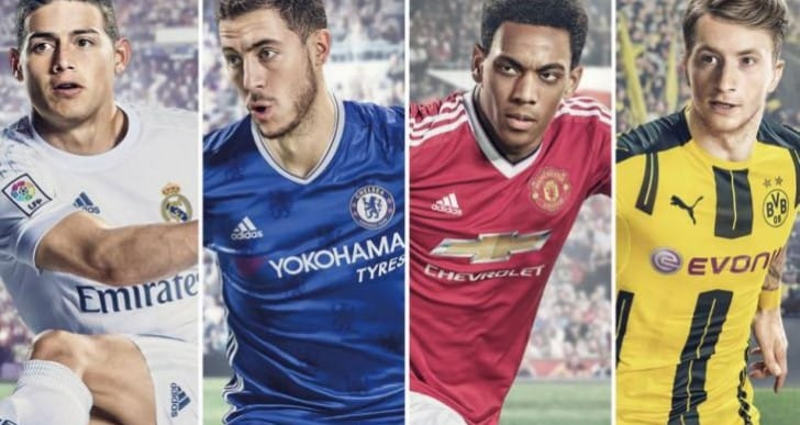 FIFA 17 Super, Deluxe, Standard pre-order bonus for US, UK