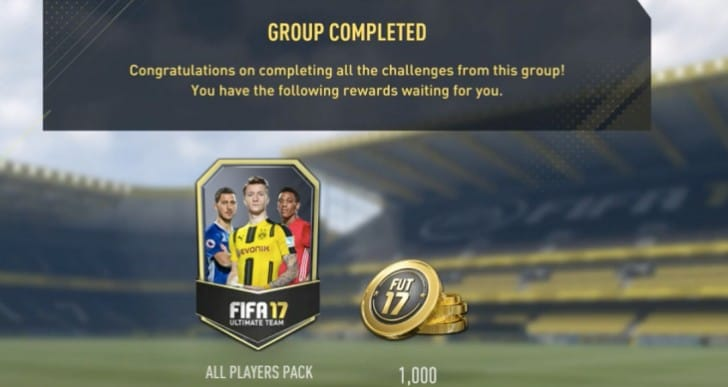 Complete Seven Club Challenge on FIFA 17 easily
