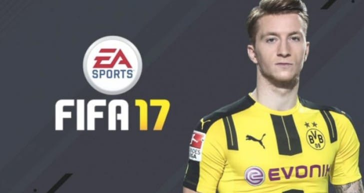 Marco Reus MOTM card on FIFA 17 after comeback
