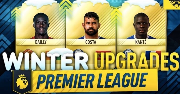 FIFA 17 PL Winter upgrades for LFC, Chelsea, Spurs