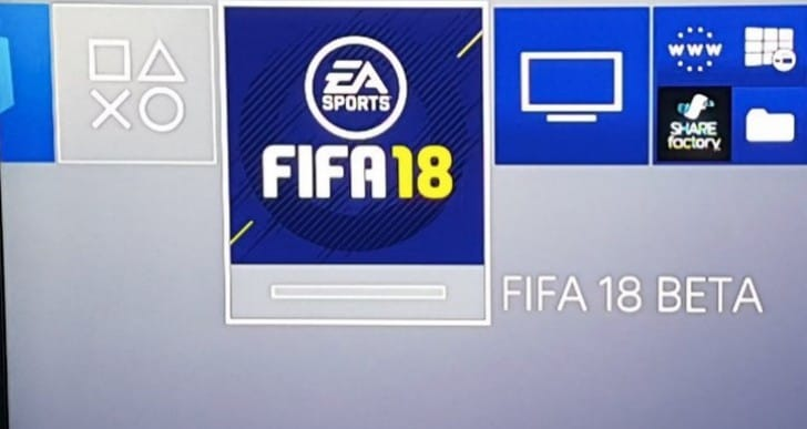 FIFA 18 beta codes free on PS4, Xbox One