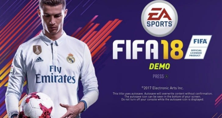 FIFA 18 Demo release date on PS4, Xbox One