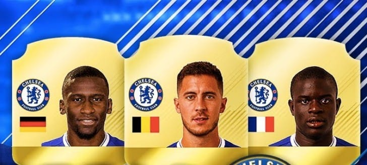 Chelsea FC surprise for FIFA 18 rating predictions