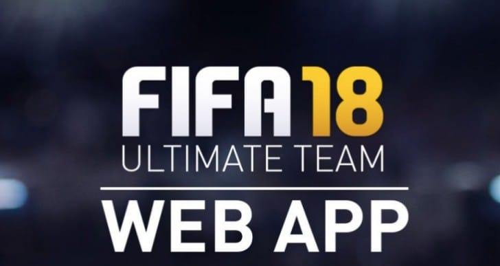 FIFA 18 Web App release time confirmed by EA