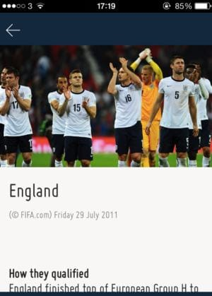 High hopes for England this year?