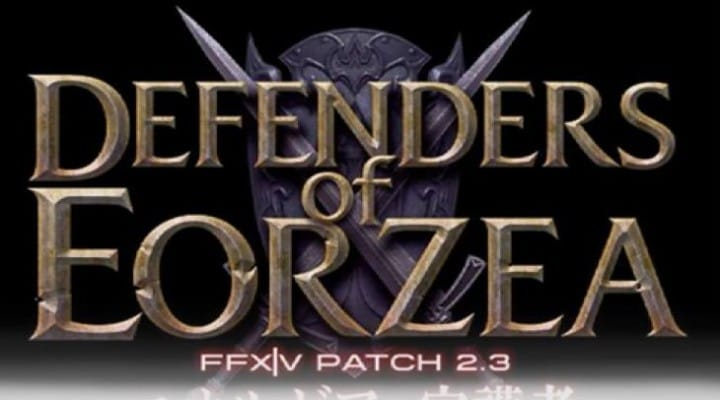 Final Fantasy 14 down today for 2.3 patch update