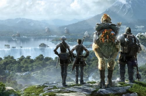 If you haven't played Final Fantasy 14 yet, what are you waiting for? It's beautiful..