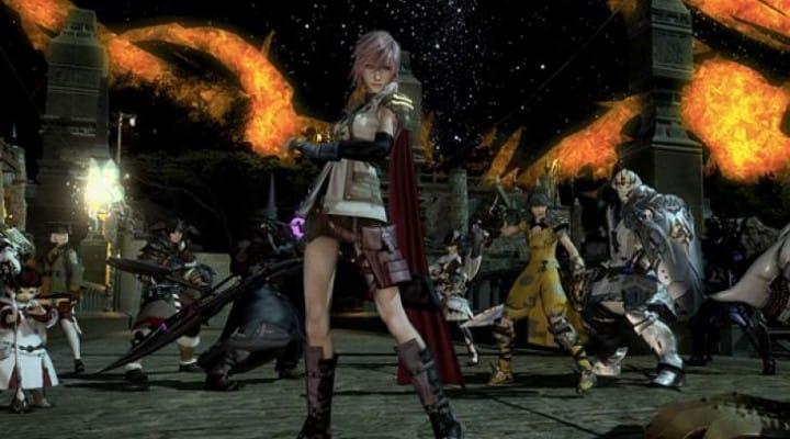 Final Fantasy 14 Lightning Returns costume live again