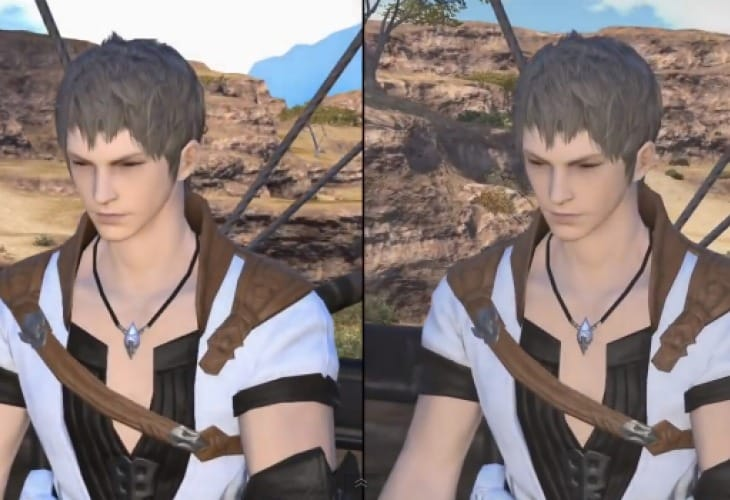Final Fantasy XIV PC Vs PS3 graphics after release