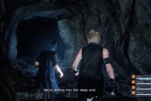 Final Fantasy 15 Dungeon gameplay in HD