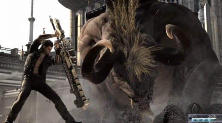 Final Fantasy XV Xbox One Vs PS4 gameplay