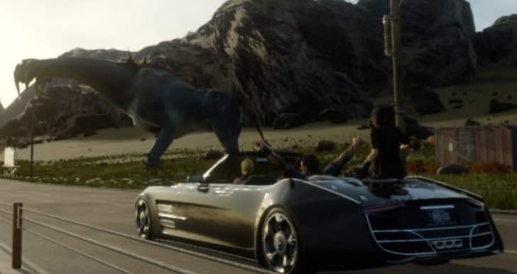 Final Fantasy XV demo file size on PS4, Xbox One
