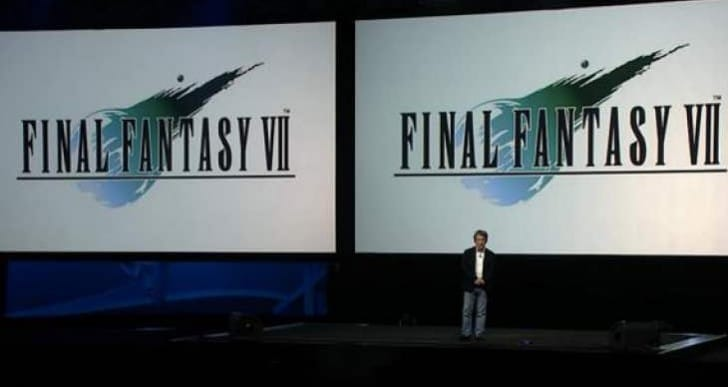 Final Fantasy 7 on PS4 troll reaction from fans