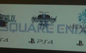 Final Fantasy XV PS4 promotion at E3 2013