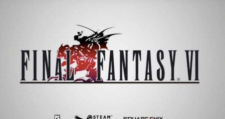 Final Fantasy VI Steam release is Mobile port not PS1