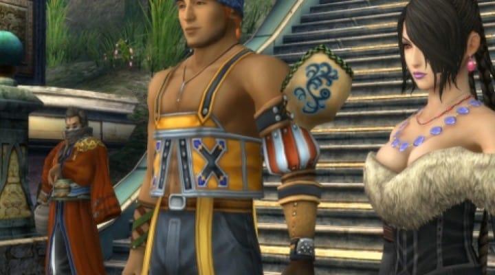Final Fantasy X HD looks better on PS Vita than PS3