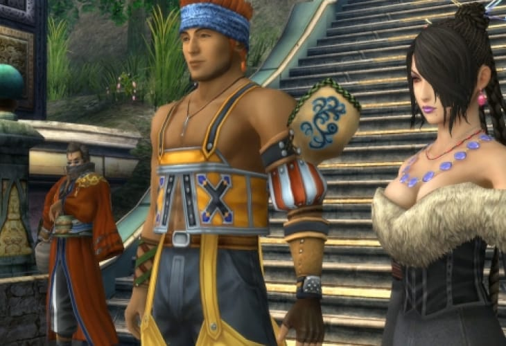 Final Fantasy X HD looks better on PS Vita than PS3