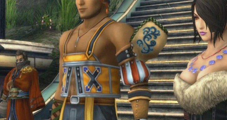Final Fantasy X HD Vs PS2 with one GIF