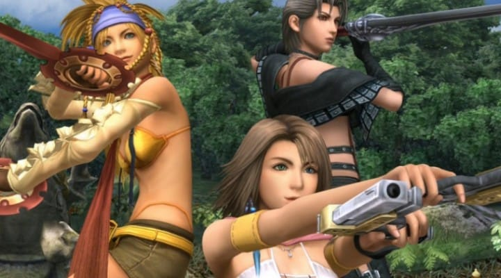 Final Fantasy X-2 HD images show PS3-quality graphics