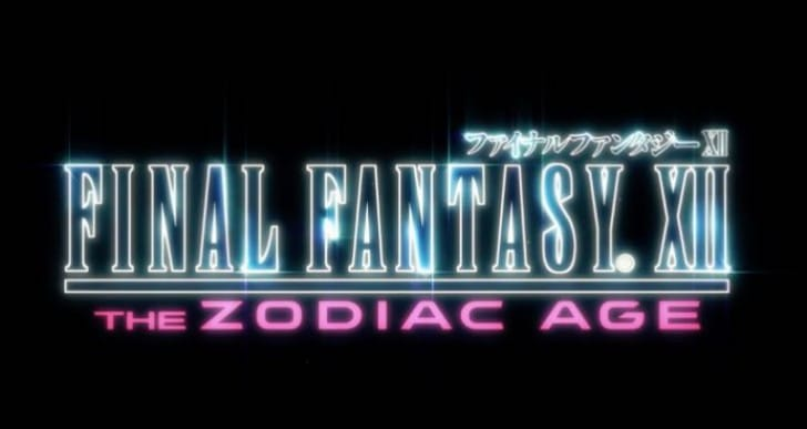 Final Fantasy XII Zodiac Age PS4 trailer Vs 2006 original