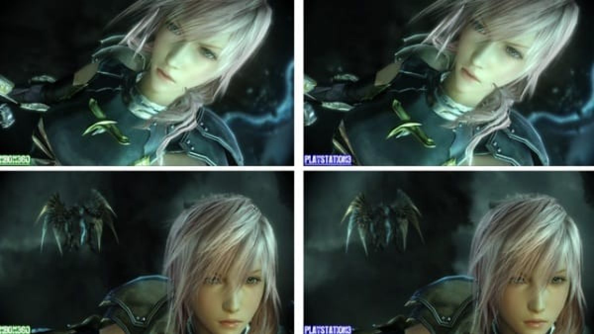 Final Fantasy Xiii 2 Ps3 Vs Xbox 360 Graphics Are Identical