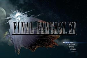 Final Fantasy XV DLC gameplay countdown at event