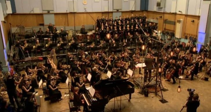 Final Fantasy XV Soundtrack live at Abbey Road Studios