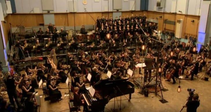 Final Fantasy XV Soundtrack live at Abbey Road Studios