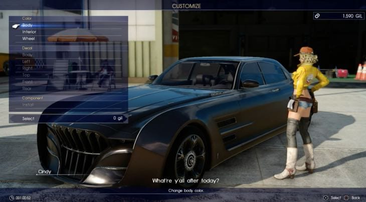 Car Games 2016 >> First Final Fantasy XV gameplay on Xbox One Vs PS4 – Product Reviews Net