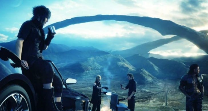 Final Fantasy XV in-game menu teased