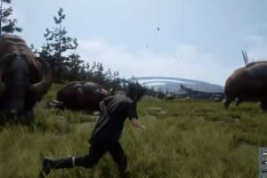 Final Fantasy 15 demo with amazing open world
