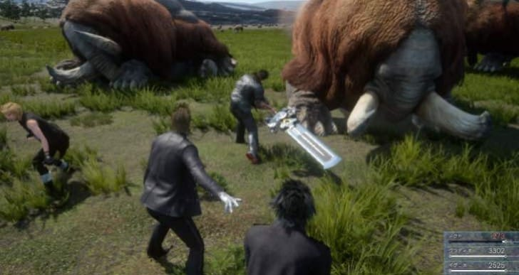 Final Fantasy 15 release date with PS4 hardware, PRO surprise
