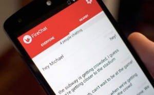 Firechat app for Hong Kong protestors safety warning