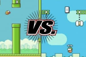Flappy Bird Vs Swing Copters for popularity