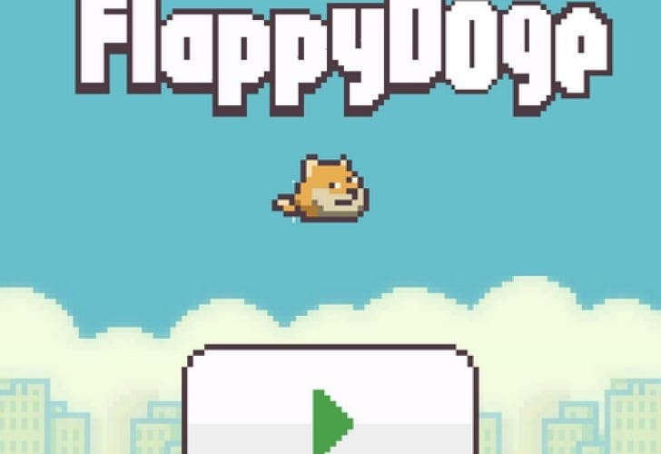 Flappy Doge prolongs Flappy Bird addiction