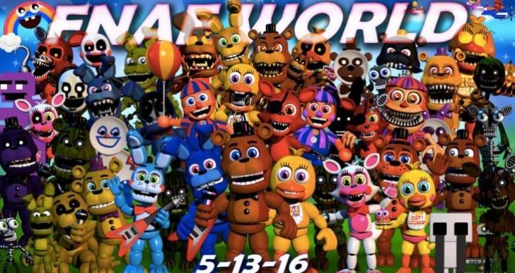 FNAF World Update 2 download live today