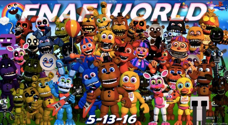 FNAF World Update 2 download live today – Product Reviews Net