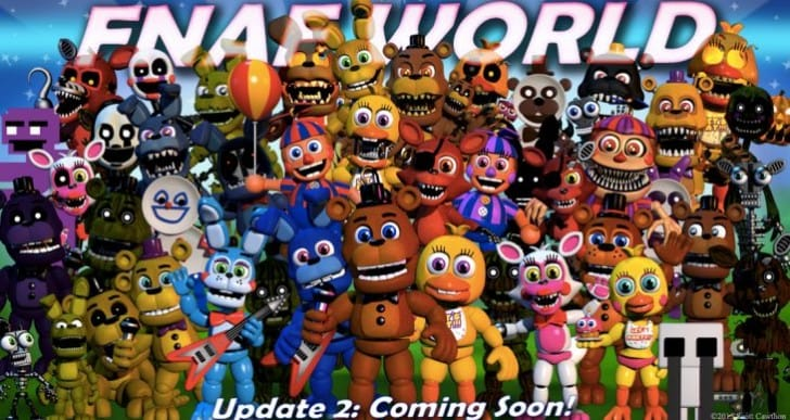 FNaF World Update 2 release date excitement