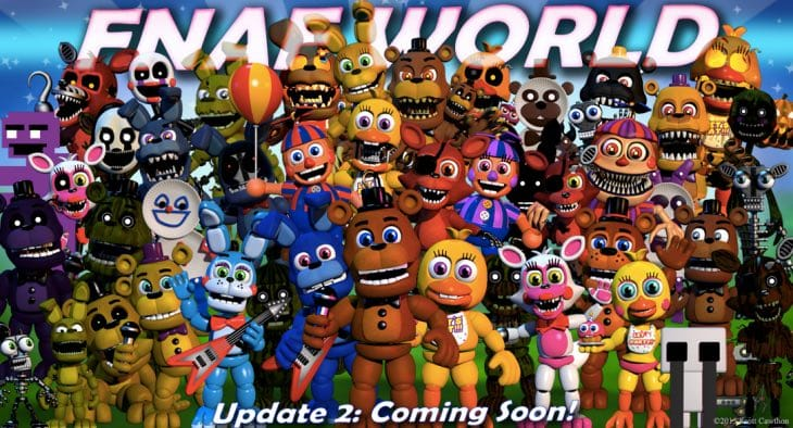 FNaF World Update 2 release date excitement  Product Reviews Net
