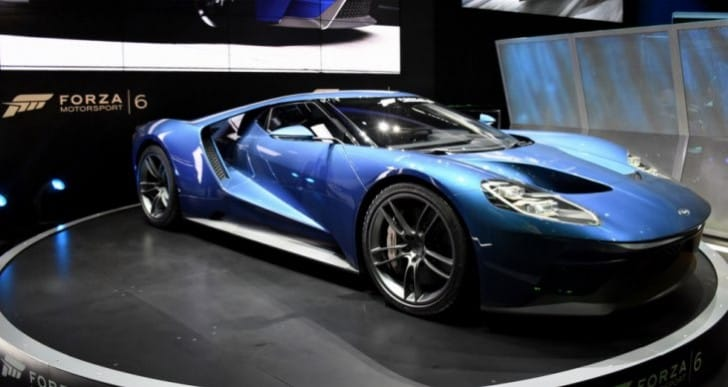 Drive 2017 Ford GT free with Forza 6 demo