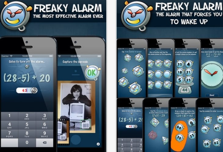 iPhone alarm clock app solves wake up problems
