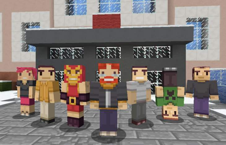 Free Minecraft skins for Xbox One players