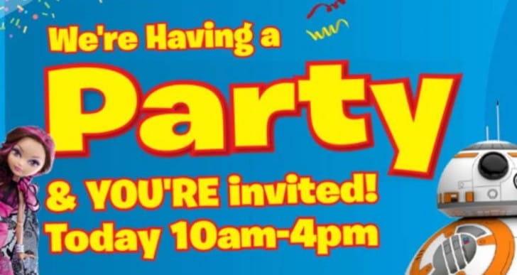 Free Easter Party Event at Smyths Toys Stores Today