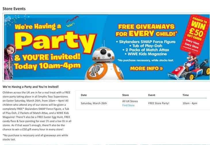 free-store-party