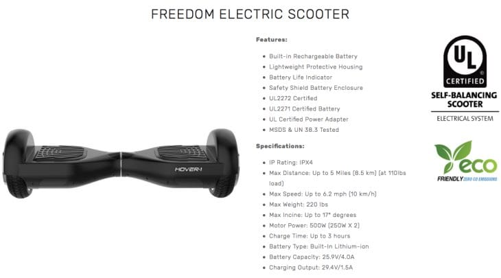 freedom-electric-scooter-review-h1-hoverboard