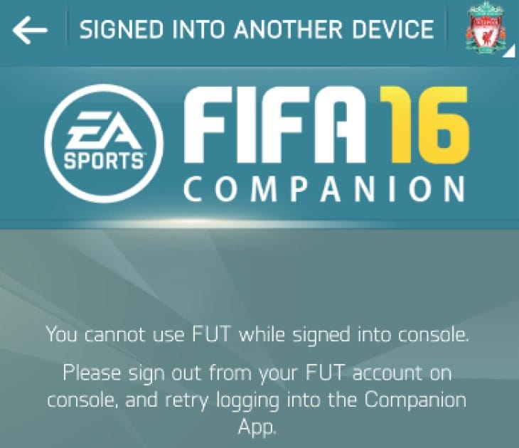 fut-16-signed-into-another-device-fix