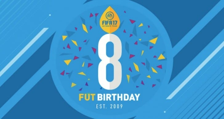 FIFA 17 FUT Birthday for Free Packs, SBC
