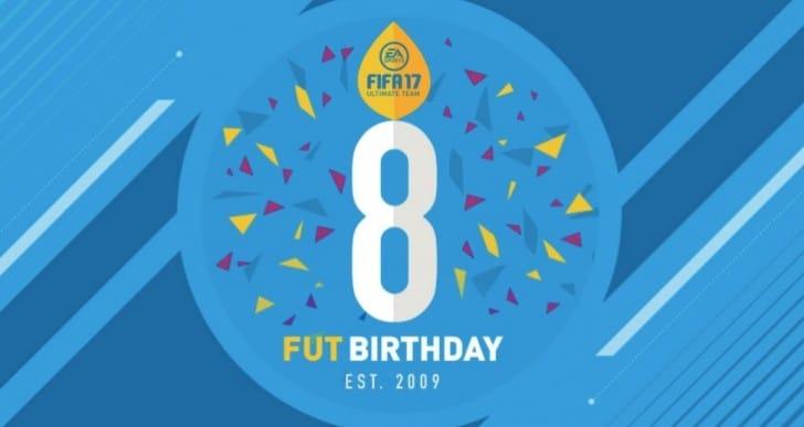 FIFA 17 FUT Birthday for Free Packs, SBC