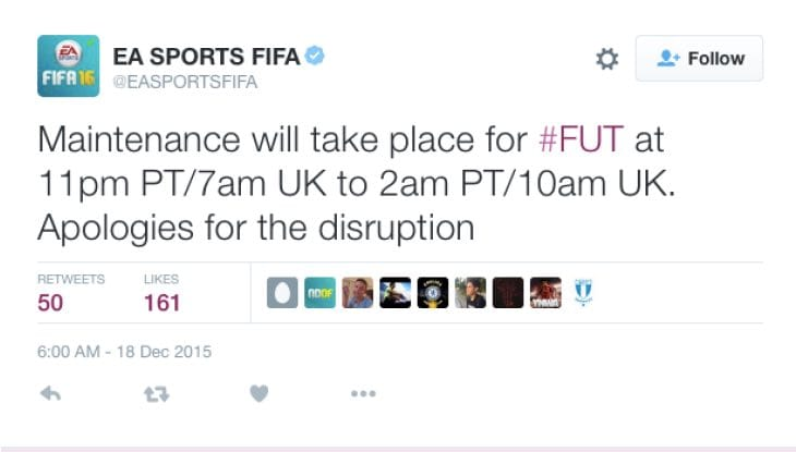 fut-maintenance