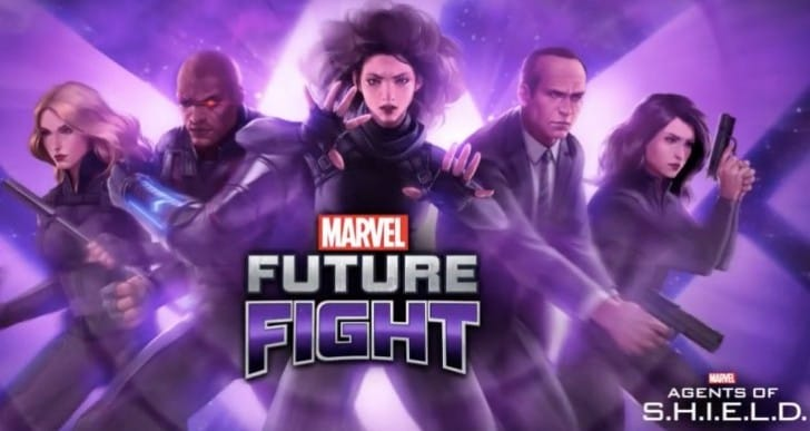 Marvel Future Fight update with Agents of Shield gameplay